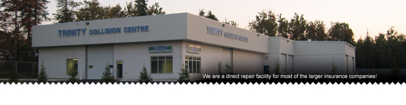 Trinity Collision Centre: Direct Repair Facility for Larger Insurance Companies