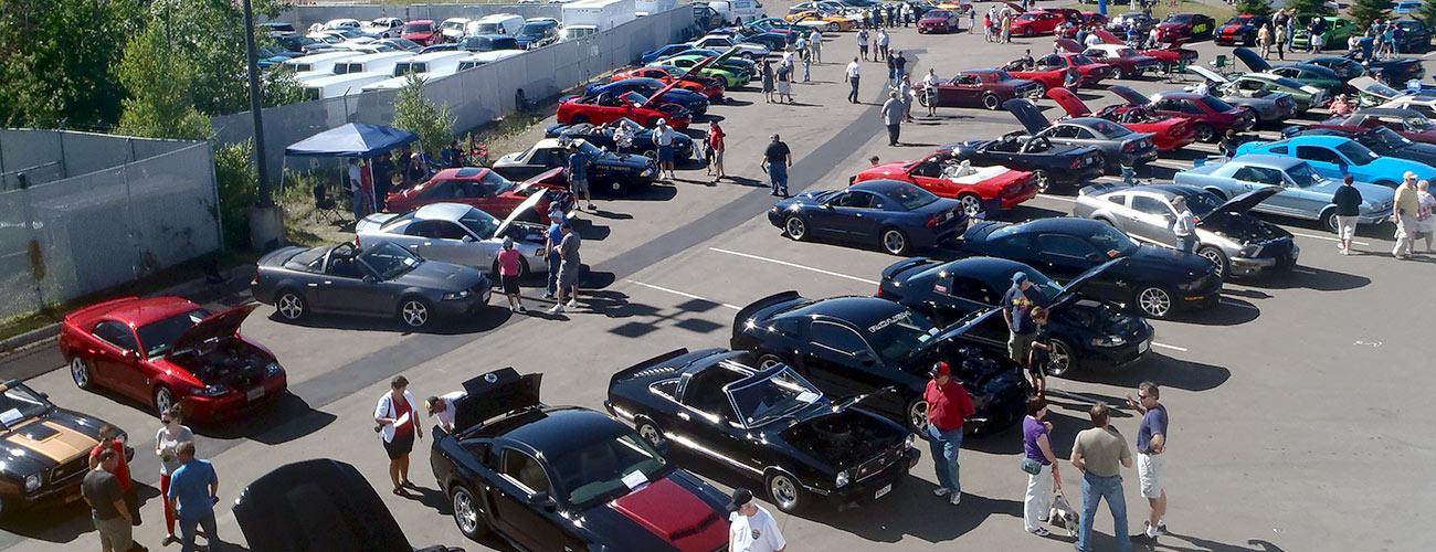 Annual Mustang Club Car Show
