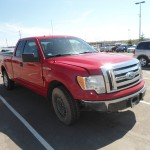 Ford F-150: Before Auto Body Repairs