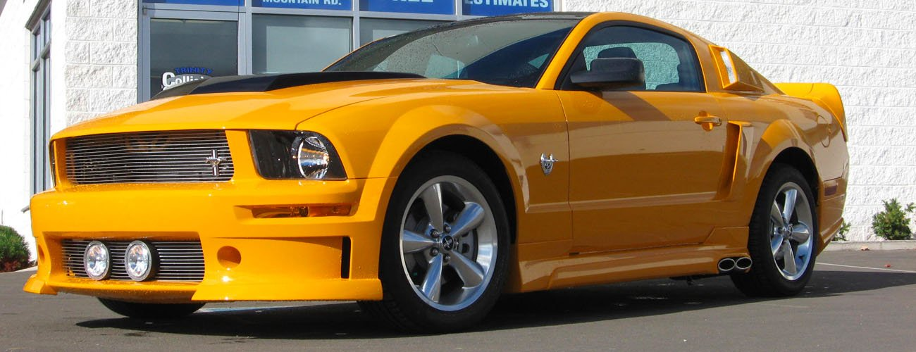 Customized Mustang