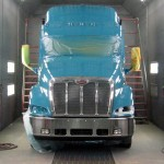 Vehicle Painting: Large Paint Booth Fits Commercial Trucks, RVs and Buses